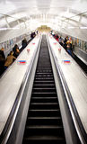 London Underground  stairs Royalty Free Stock Image