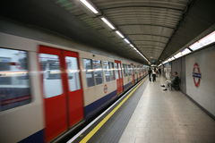 London underground station Stock Photos
