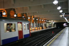London underground station Stock Images