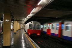 London underground station Stock Photography
