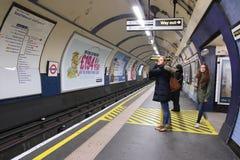 London underground station Royalty Free Stock Photography