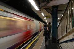 Tube london. London underground subway Royalty Free Stock Image