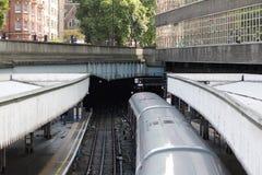Tube. London underground subway Royalty Free Stock Photo