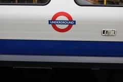 Tube london. London underground subway Royalty Free Stock Photography