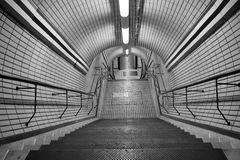 London Underground Tottenham Court Road Royalty Free Stock Photos