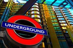 London Underground Transport  Sign Royalty Free Stock Image