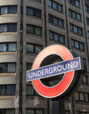 London Underground Tube Royalty Free Stock Photo