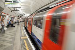 London Underground Stock Photography