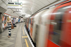 London Underground Stock Photos