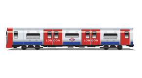 London Underground Tube Train stock illustration