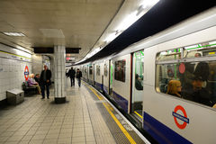 London Underground Royalty Free Stock Photo