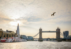 London, United Kingdom – August 19: Tower Bridge Symbol of Lond royalty free stock image