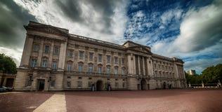 LONDON, THE UNITED KINGDOM – 2 OKTOBER, 2017: Buckingham Palace Royalty Free Stock Photography