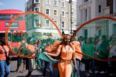 Free London, United Kingdom - August 27, 2017. Notting Hill Carnival Royalty Free Stock Photo - 99997035