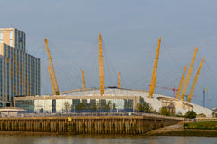 London, United Kingdom – August 17: Horizontal view of the O2 ar Stock Images