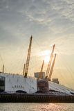 London, United Kingdom – August 17: Vertical view of the O2 aren Stock Photography