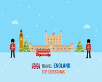 London, United Kingdom icons  travel concept Royalty Free Stock Photos