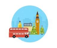 London, United Kingdom icons  travel concept Royalty Free Stock Image