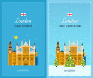 London, United Kingdom icons  travel concept Stock Image