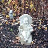Dwarf as a Garden decoration stock photos