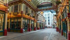 LONDON, UNITED KINGDOM - JANUARY 1: Leadenhall Market on January 1, 2019 in London. stock image