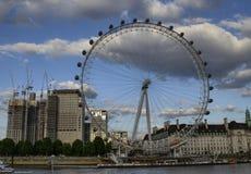 London, United Kingdom, June 14 2018. The London Eye at sunset royalty free stock photography
