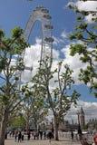 LONDON, UNITED KINGDOM London Eye Stock Image