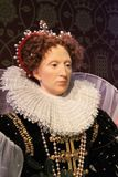 London, United Kingdom - March 20, 2017: Queen Elizabeth I wax figure at Madame Tussauds London Stock Photography