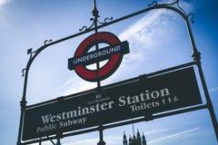 Westminster station public subway, London Stock Photo
