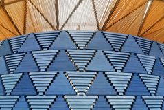 Serpentine pavillon architectural detail during the day in London Stock Photos