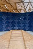 London, United kingdom: Serpentine pavillon architectural detail during the day in London Royalty Free Stock Photography
