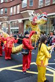 Festivities to celebrate Chinese New Year In London for year of. London, United Kingdom, 18th Febuary 2018:- Festivities to celebrate Chinese New Year in London` stock photos