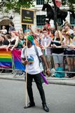 London Pride 50th Aniversary royalty free stock photo