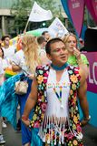 London Pride 50th Aniversary stock images