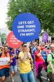 London Pride 50th Aniversary stock photo