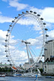 London, United kingdom, view of London Eye Stock Photo