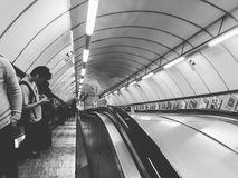 London Untertage lizenzfreies stockbild