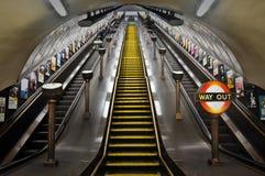 London Untertage Stockfotografie