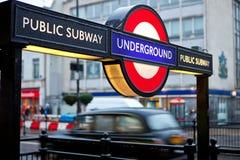 London Untertage Stockbilder