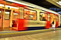 London Untertage Stockfotos