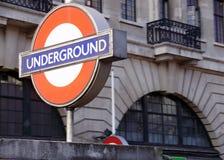 London-Untertageu-bahnstation Lizenzfreies Stockbild