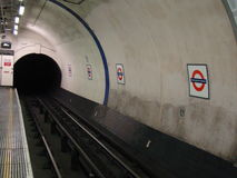 London-Untertageunterdeck Lizenzfreie Stockfotografie