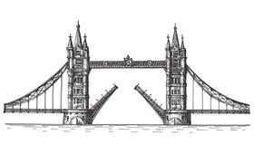 London vector logo design template. England or Stock Photography