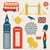 London vector set Royalty Free Stock Images