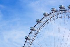 LONDON, VEREINIGTES KÖNIGREICH - 6 London-Auge ist das höchste Ferris stockbilder