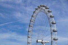 LONDON, VEREINIGTES KÖNIGREICH - 6 London-Auge ist das höchste Ferris lizenzfreie stockfotos
