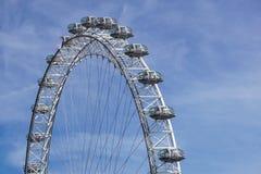 LONDON, VEREINIGTES KÖNIGREICH - 6 London-Auge ist das höchste Ferris stockbild