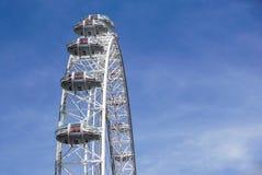 LONDON, VEREINIGTES KÖNIGREICH - 6 London-Auge ist das höchste Ferris stockfotos