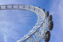 LONDON, VEREINIGTES KÖNIGREICH - 6 London-Auge ist das höchste Ferris lizenzfreies stockfoto