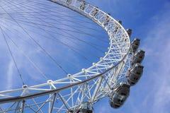 LONDON, VEREINIGTES KÖNIGREICH - 6 London-Auge ist das höchste Ferris stockfoto